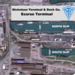 ecorse terminal aerial view