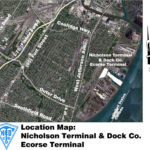 ecorse terminal key map aerial view